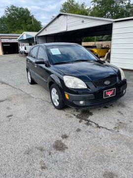 2007 Kia Rio5 for sale at LEE AUTO SALES in McAlester OK