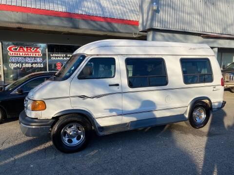 2003 Dodge Ram Van for sale at Carz Unlimited in Richmond VA
