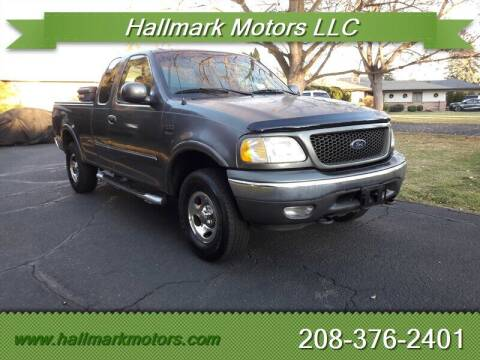 2003 Ford F-150 for sale at HALLMARK MOTORS LLC in Boise ID