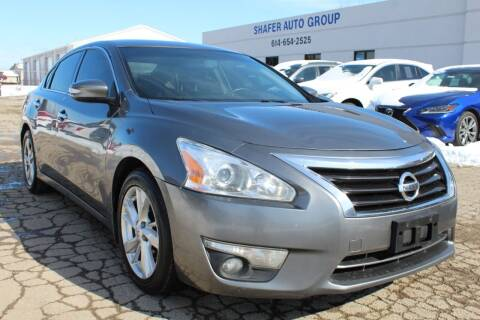 2015 Nissan Altima for sale at SHAFER AUTO GROUP in Columbus OH