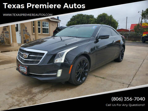 2015 Cadillac ATS for sale at Texas Premiere Autos in Amarillo TX