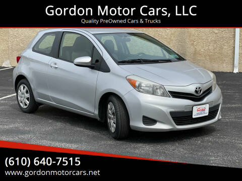 2014 Toyota Yaris for sale at Gordon Motor Cars, LLC in Frazer PA