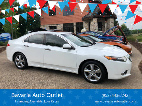 2013 Acura TSX for sale at Bavaria Auto Outlet in Victoria MN