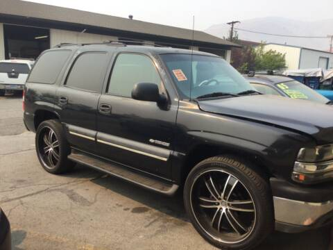 2003 Chevrolet Tahoe for sale at Small Car Motors in Carson City NV