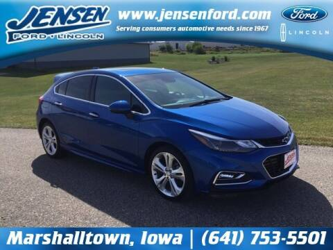 2018 Chevrolet Cruze for sale at JENSEN FORD LINCOLN MERCURY in Marshalltown IA