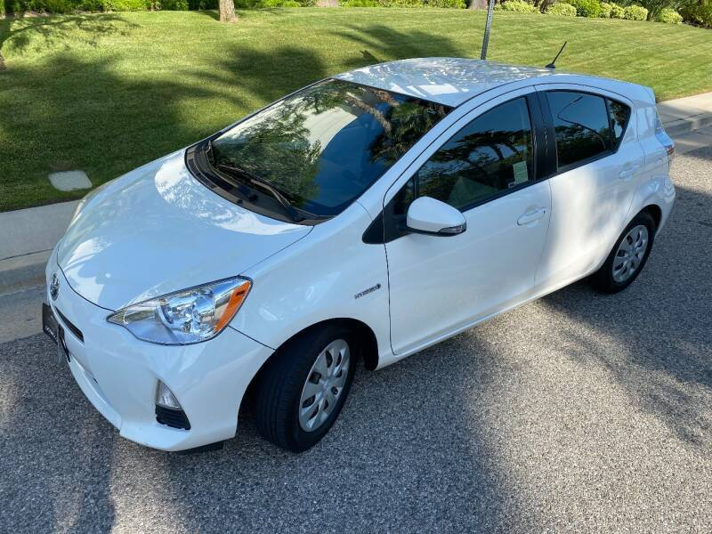 2013 Toyota Prius c for sale at Donada  Group Inc in Arleta CA