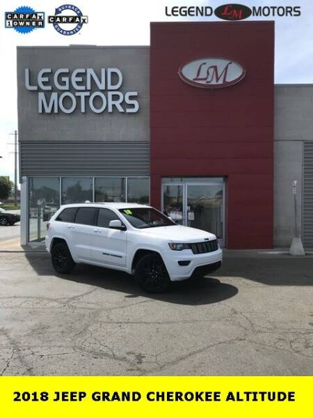 2018 Jeep Grand Cherokee for sale at Legend Motors of Detroit - Legend Motors of Ferndale in Ferndale MI