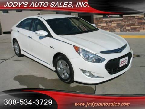 2015 Hyundai Sonata Hybrid for sale at Jody's Auto Sales in North Platte NE