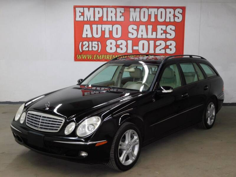 2006 Mercedes-Benz E-Class for sale at EMPIRE MOTORS AUTO SALES in Philadelphia PA