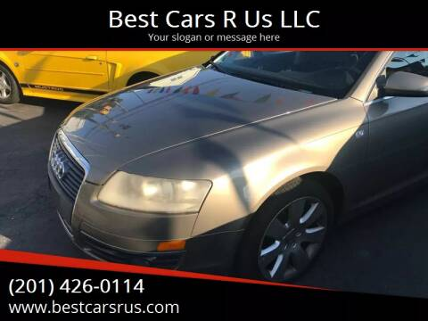 2006 Audi A6 for sale at Best Cars R Us LLC in Irvington NJ