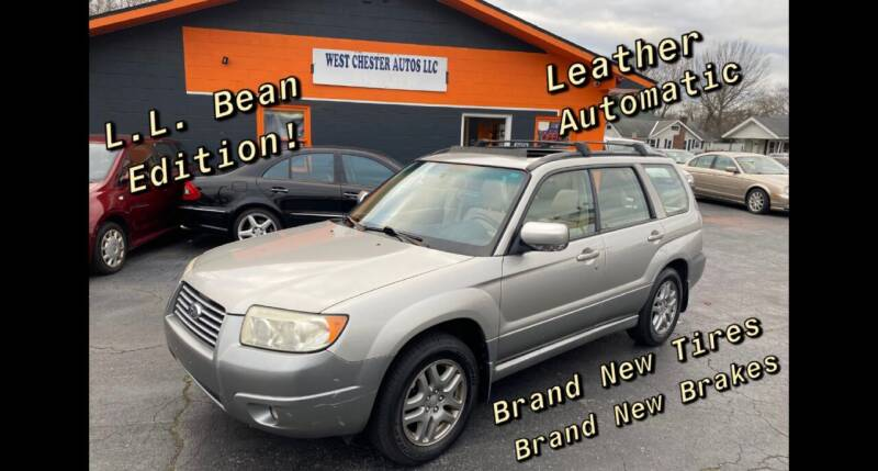 2007 Subaru Forester for sale at West Chester Autos in Hamilton OH