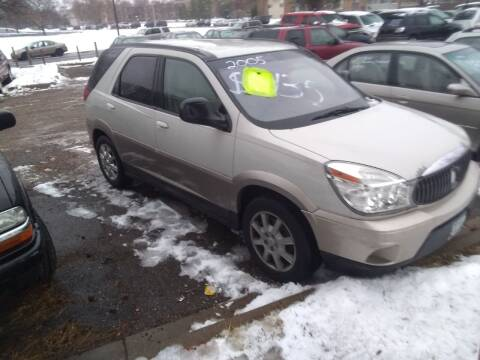 2005 Buick Rendezvous for sale at Continental Auto Sales in White Bear Lake MN