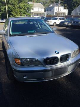 2002 BMW 3 Series for sale at MILLDALE AUTO SALES in Portland CT