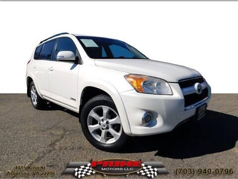 2012 Toyota RAV4 for sale at PRIME MOTORS LLC in Arlington VA