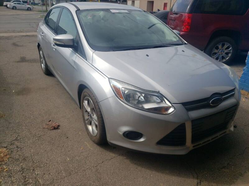 2014 Ford Focus for sale at M & C Auto Sales in Toledo OH