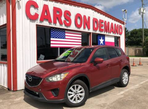 2013 Mazda CX-5 for sale at Cars On Demand 3 in Pasadena TX