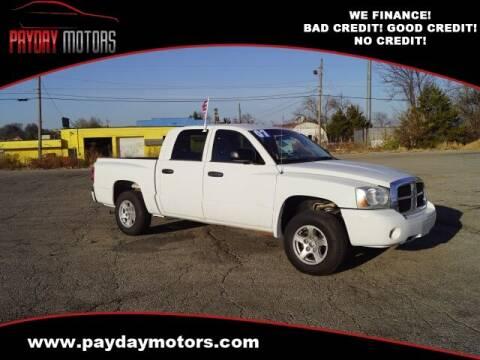 2007 Dodge Dakota for sale at Payday Motors in Wichita And Topeka KS