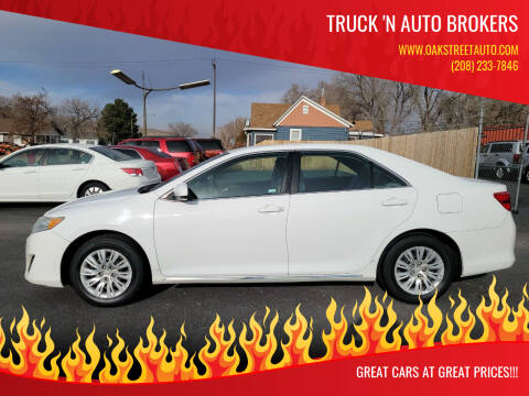 2014 Toyota Camry for sale at Truck 'N Auto Brokers in Pocatello ID