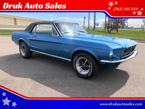 1968 Ford Mustang for sale at Druk Auto Sales in Ramsey MN