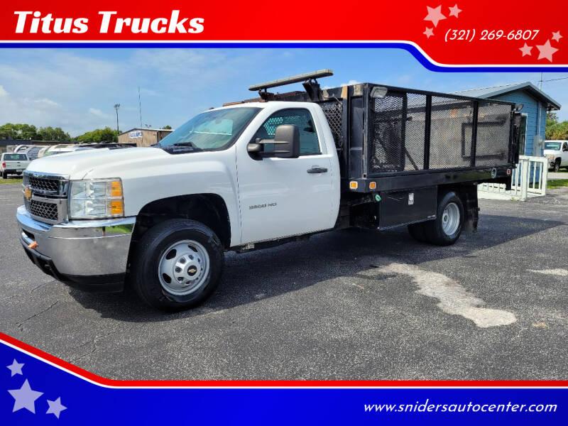 2014 Chevrolet Silverado 3500HD CC for sale at Titus Trucks in Titusville FL