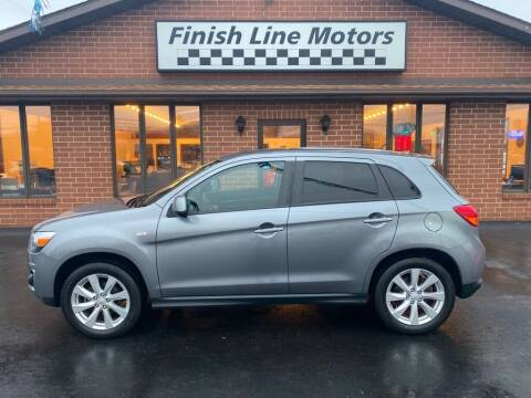 2013 Mitsubishi Outlander Sport for sale at FINISHLINE MOTORS in Canton OH