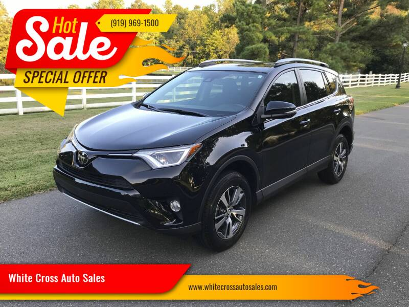 2017 Toyota RAV4 for sale at White Cross Auto Sales in Chapel Hill NC