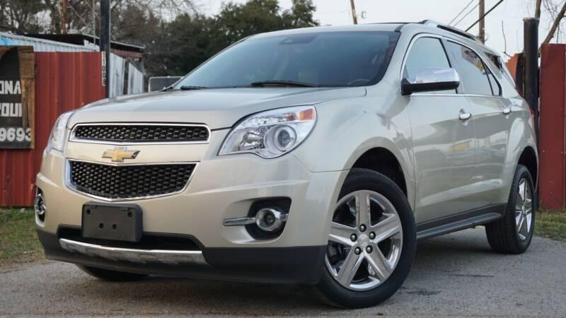 2014 Chevrolet Equinox for sale at Hidalgo Motors Co in Houston TX
