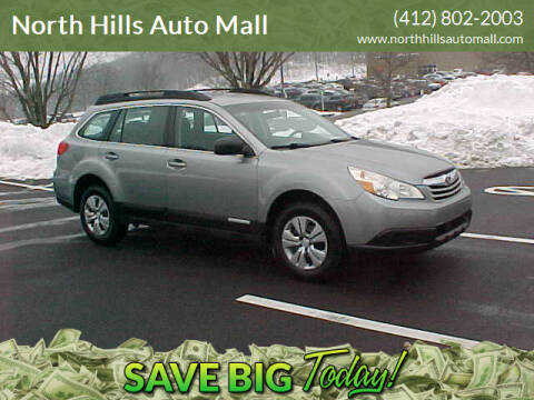 2011 Subaru Outback for sale at North Hills Auto Mall in Pittsburgh PA
