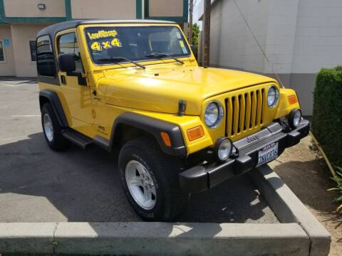 2005 Jeep Wrangler for sale at Showcase Luxury Cars II in Pinedale CA