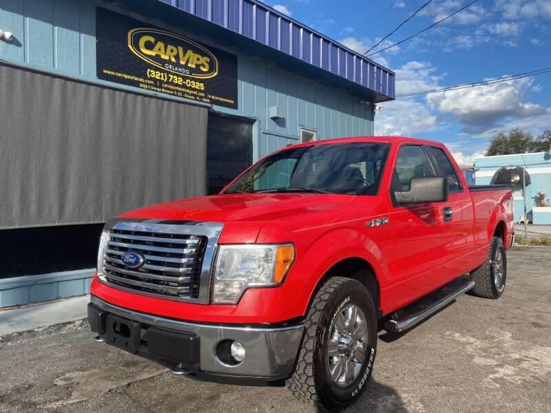 2012 Ford F-150 for sale at CAR VIPS ORLANDO LLC in Orlando FL