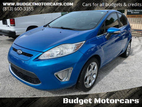 2013 Ford Fiesta for sale at Budget Motorcars in Tampa FL