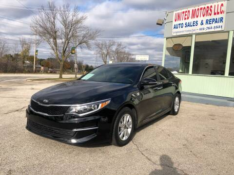 2018 Kia Optima for sale at United Motors LLC in Saint Francis WI