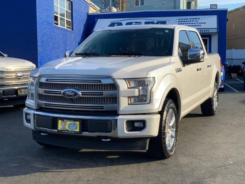 2017 Ford F-150 for sale at AGM AUTO SALES in Malden MA