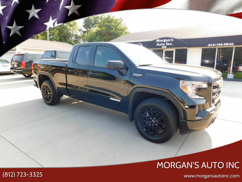 2021 GMC Sierra 1500 for sale at Morgan's Auto Inc in Paoli IN