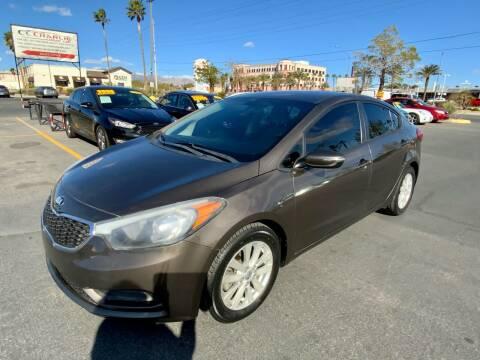 2014 Kia Forte for sale at Charlie Cheap Car in Las Vegas NV
