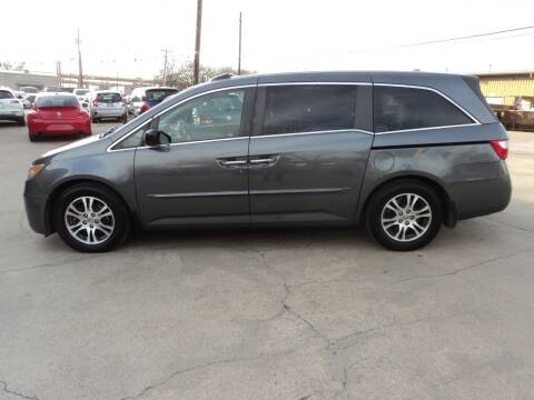 2011 Honda Odyssey for sale at SPORT CITY MOTORS in Dallas TX