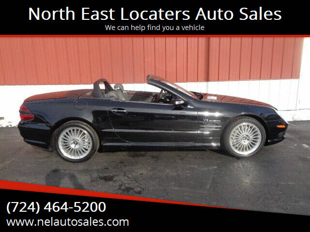2004 Mercedes-Benz SL-Class for sale at North East Locaters Auto Sales in Indiana PA