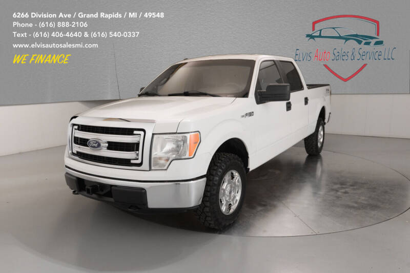 2013 Ford F-150 for sale at Elvis Auto Sales LLC in Grand Rapids MI