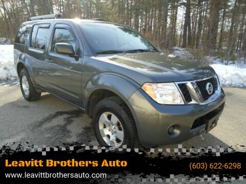 2009 Nissan Pathfinder for sale at Leavitt Brothers Auto in Hooksett NH