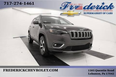 2019 Jeep Cherokee for sale at Lancaster Pre-Owned in Lancaster PA