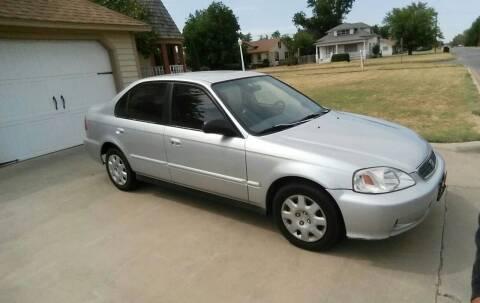 1999 Honda Civic for sale at Eastern Motors in Altus OK