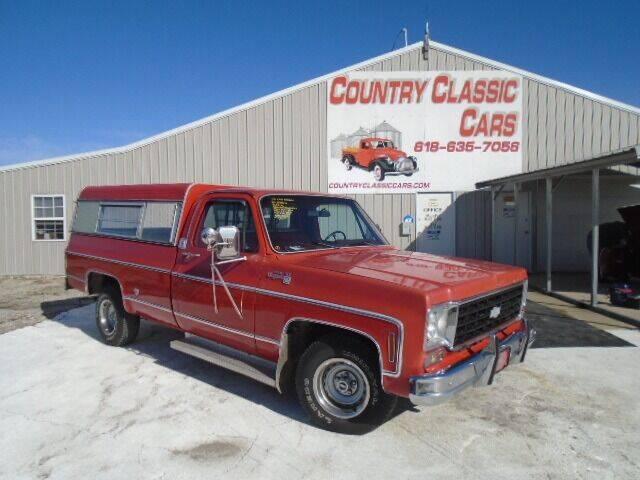 1975 Chevrolet C/K 10 Series for sale in Staunton, IL