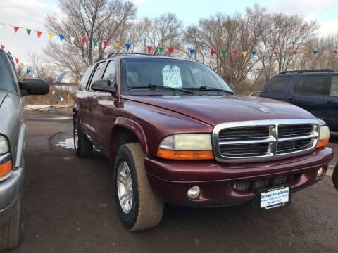 2003 Dodge Durango for sale at BARNES AUTO SALES in Mandan ND