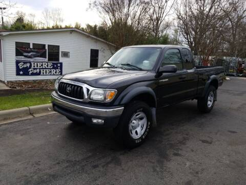 2004 Toyota Tacoma for sale at TR MOTORS in Gastonia NC