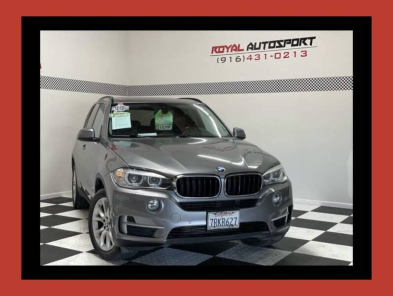 2016 BMW X5 for sale at Royal AutoSport in Sacramento CA
