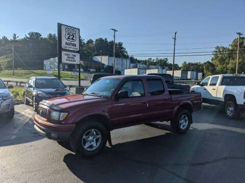 2002 Toyota Tacoma for sale at Route 22 Autos in Zanesville OH