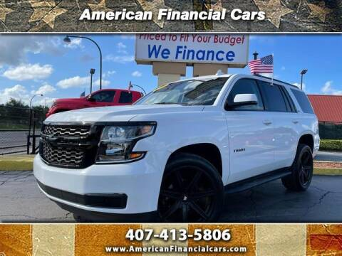 2020 Chevrolet Tahoe for sale at American Financial Cars in Orlando FL