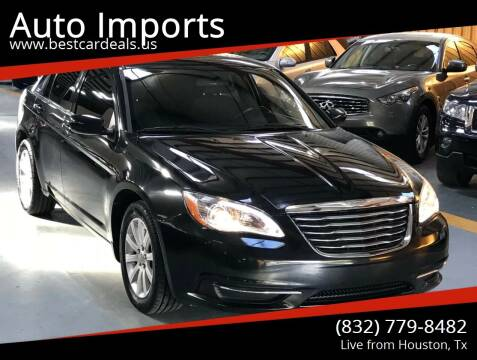 2011 Chrysler 200 for sale at Auto Imports in Houston TX