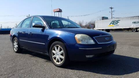 2005 Ford Five Hundred for sale at Wrightstown Auto Sales LLC in Wrightstown NJ