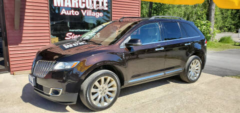 2014 Lincoln MKX for sale at Marcotte & Sons Auto Village in North Ferrisburgh VT